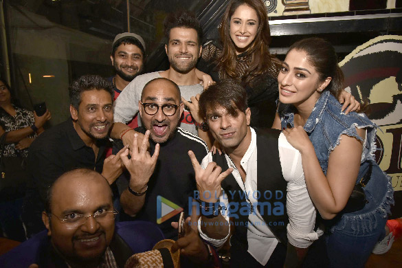 Celebs snapped at Myntra Sneaker Club in Bangalore (11)