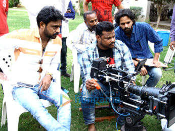 On The Sets Of The Movie De Ijaazat Rahun Tujhme