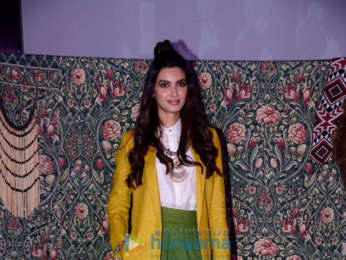 Diana Penty snapped at the New Zealand Tourism event