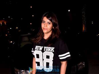 Ekta Kapoor snapped at BKC