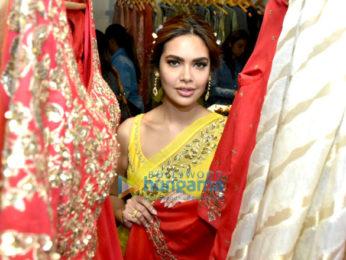 Esha Gupta graces the launch of Neha Gupta's Festive Spring Summer 2018 collection