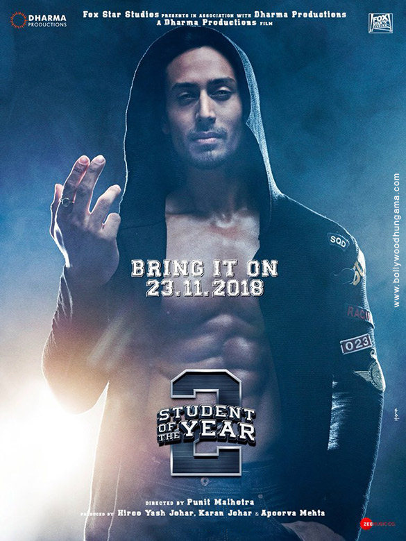 New Hindi Movei 2018 2019 Bolliwood: FIRST LOOK: Tiger Shroff Looks Charming In This STUDENT OF