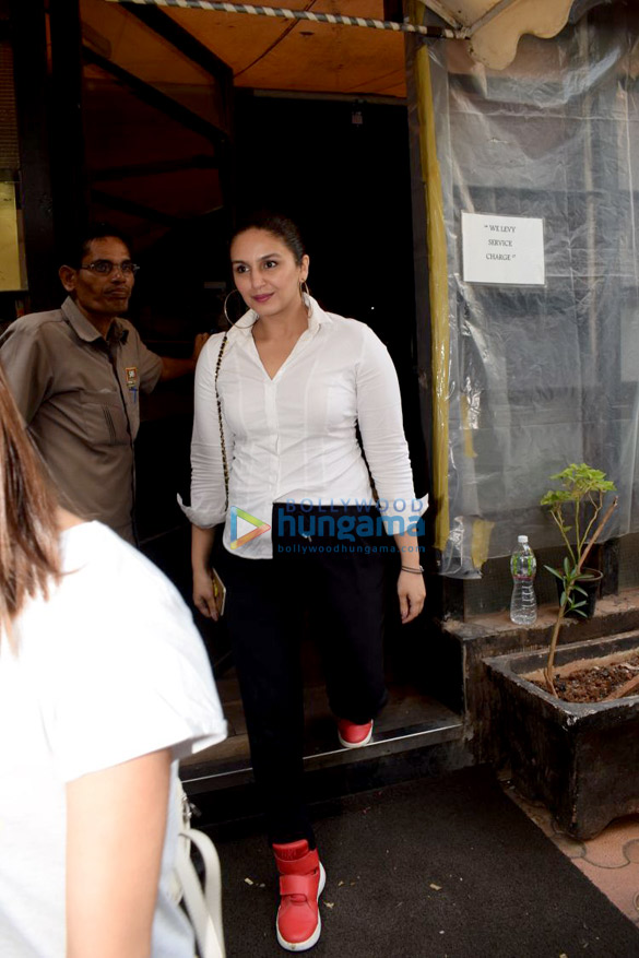 Huma Qureshi spotted at Indigo in Andheri