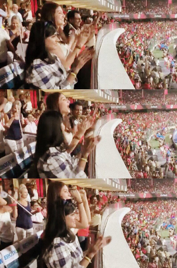IPL 2018: Anushka Sharma has the loudest cheers for her husband Virat Kohli during RCB vs. CSK match