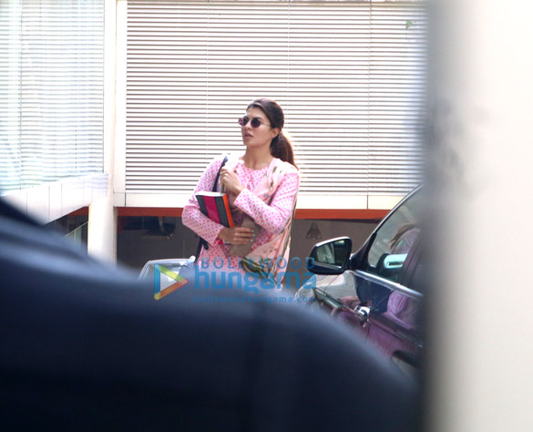 Jacqueline Fernandez spotted at Red Chillies Entertainment in Khar