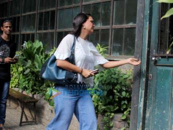 Jacqueline Fernandez and Lara Dutta spotted at Pali Village Cafe in Bandra