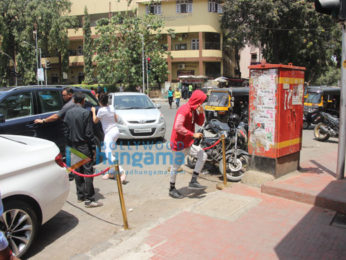 Janhvi Kapoor and Ishaan Khattar snapped at Bastian