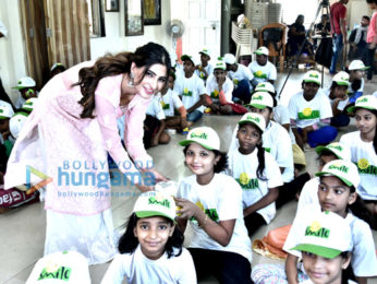 Karishma Sharma snapped visiting Smile Foundation (2)
