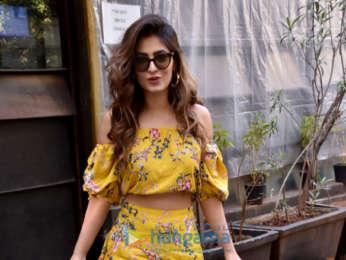 Karishma Sharma spotted at Indigo cafe in Andheri