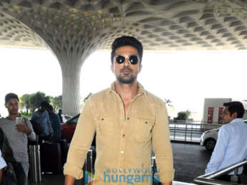 Kartik Aaryan, Saiyami Kher, Aditi Rao Hydari and others snapped at the airport
