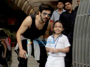 Kartik Aaryan spotted after a work-out session at the gym