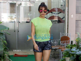 Malaika Arora and Amrita Arora spotted at Muah salon in Khar