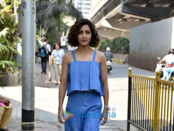 Neeti Mohan snapped in Parel