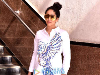 Neha Bhasin snapped in the city