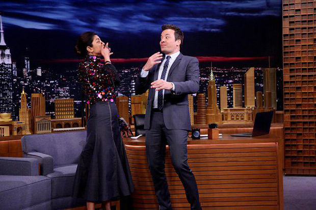 PHOTOS: Priyanka Chopra makes her fourth appearance on The Tonight Show starring Jimmy Fallon