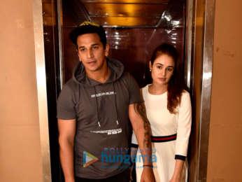 Prince Narula and Yuvika Chaudhary snapped at PVR, Juhu