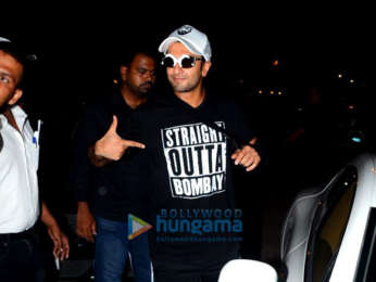 Ranveer Singh spotted at Otters Club in Bandra