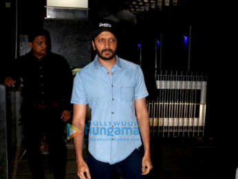 Riteish Deshmukh and Manyata Dutt snapped with their respective kids at Hakkasan