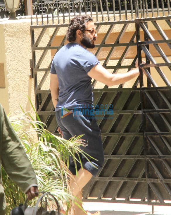 Saif Ali Khan spotted at recording studio in Bandra