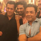 Salman Khan, Bobby Deol and other Race 3 stars come together for the birthday of Saqib Saleem