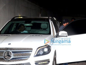 Salman Khan spotted at Tips office in Bandra