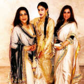 Sara Ali Khan stuns in traditional avatar; poses with mom Amrita Singh and Dimple Kapadia