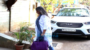 Shabana Azmi snapped in Juhu