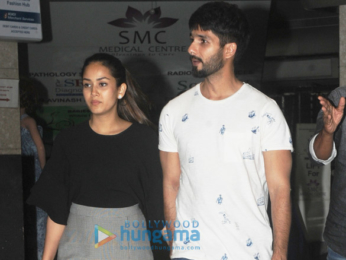 Shahid Kapoor and Mira Rajput spotted in Bandra