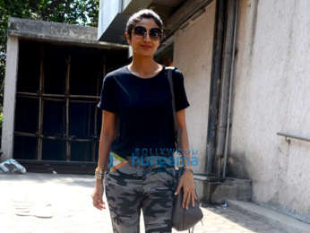 Shilpa Shetty spotted post visiting a clinic in Bandra