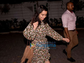 Shraddha Kapoor snapped after a dubbing session in Juhu