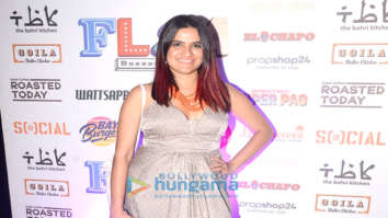 Sona Mohapatra attends the launch of Flea Bazaar Cafe