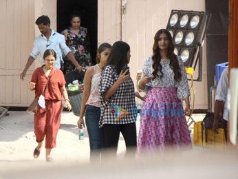 Sonam Kapoor snapped in Mumbai