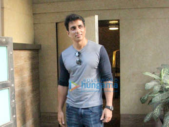 Sonu Sood spotted in Bandra