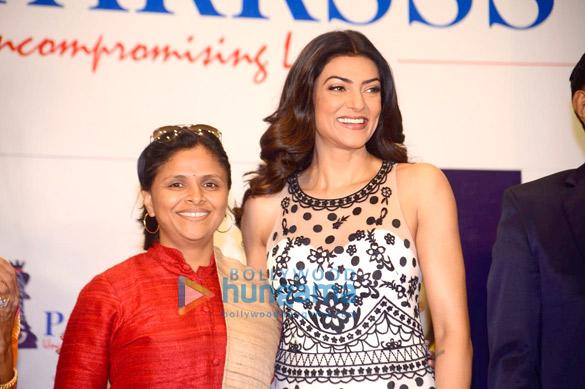 Sushmita Sen graces the Sanghavi Parrsssva event