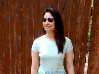 Tamannaah Bhatia spotted at dance rehersal in Bandra