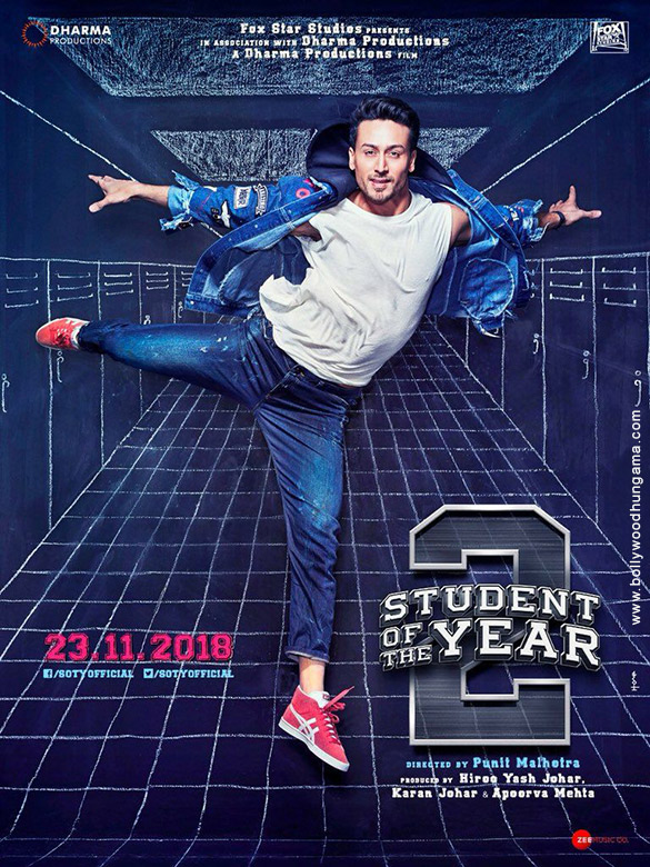 FIRST LOOK: Tiger Shroff looks charming in this STUDENT OF THE YEAR 2 poster