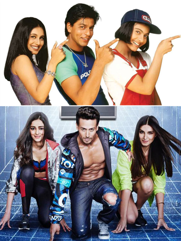Tiger As Rahul Tara As Tina And Ananya As Anjali Is Student Of The