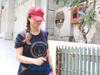 Urmila Matondkar snapped in Bandra