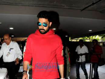 Urvashi Rautela, Abhishek Bachchan, Seema Khan and others snapped at the airport