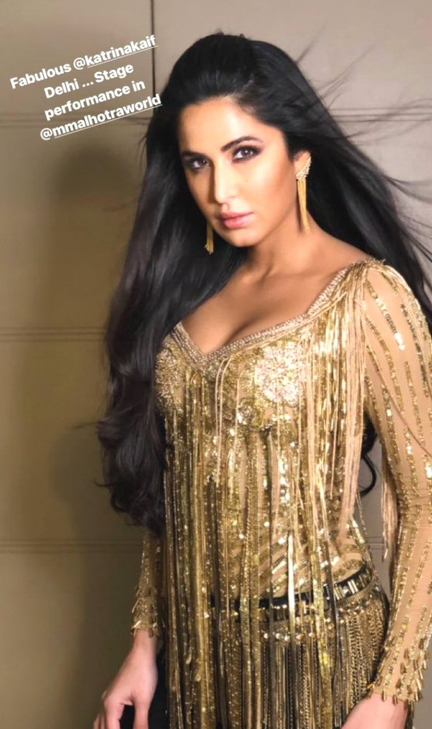 WATCH: Katrina Kaif sizzles on stage with her 'Kala Chashma', 'Afghan Jalebi' and 'Dil Diyan Gallan'