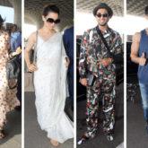 Weekly Airport Style - Anushka Sharma, Kangana Ranaut, Ranveer Singh, Tiger Shroff, Sidharth Malhotra, Athiya Shetty
