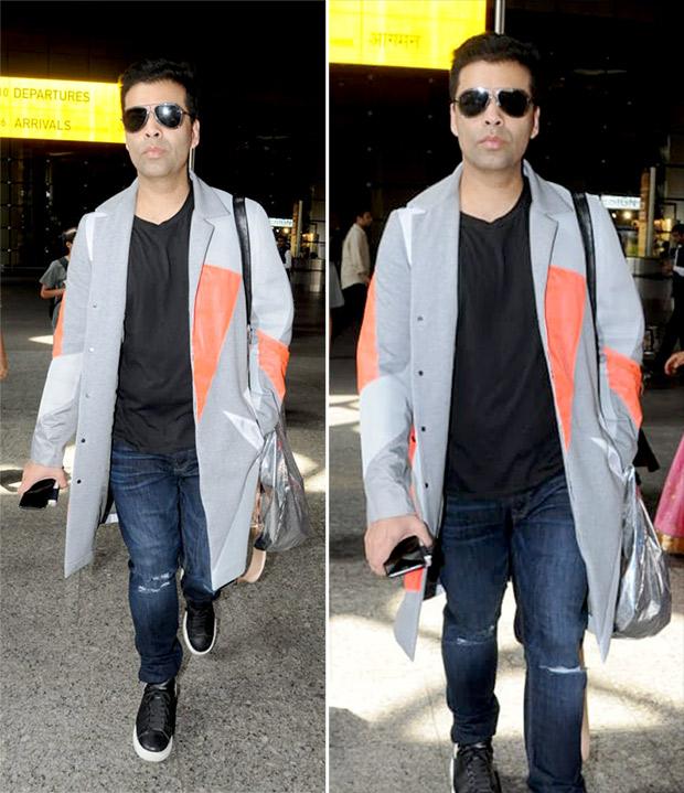 Weekly Celebrity Airport Style - Karan Johar