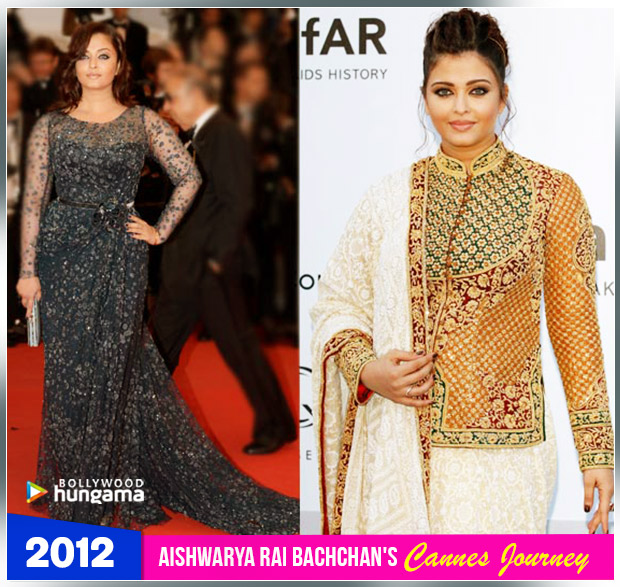 Aishwarya Rai Bachchan Cannes journey 2012