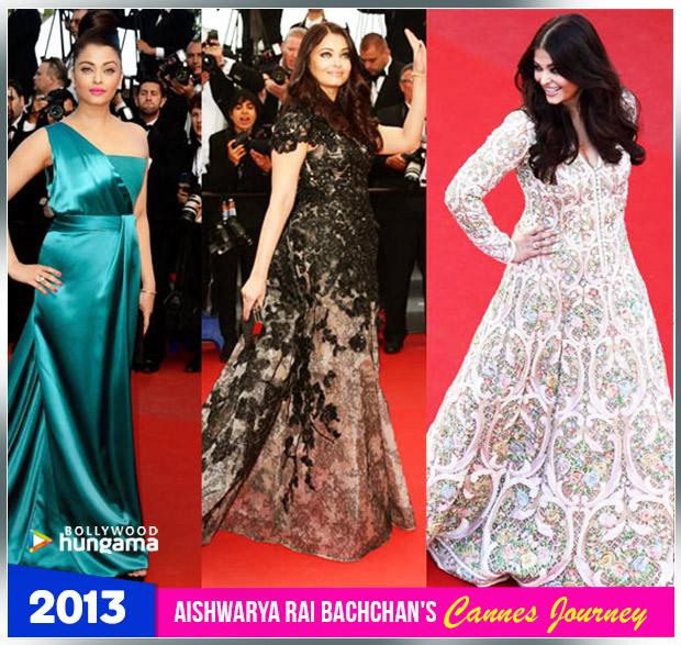 Aishwarya Rai Bachchan Cannes journey 2013