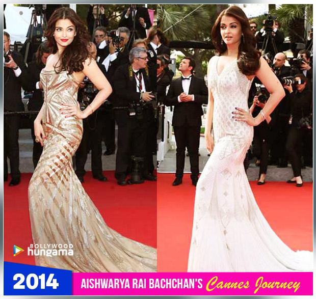 Aishwarya Rai Bachchan Cannes journey 2014