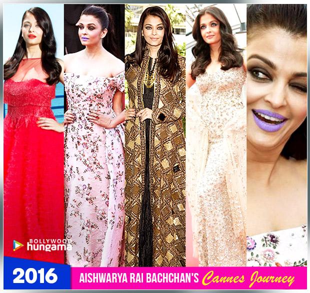 Aishwarya Rai Bachchan Cannes journey 2016