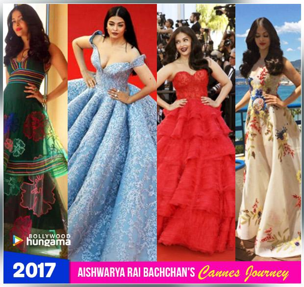 Aishwarya Rai Bachchan Cannes journey 2017