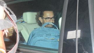 Aamir Khan, Raju Hirani, Abhishek Bachchan & Bollywood Celebs @Raazi Special Screening