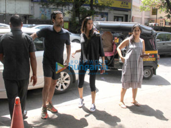 Abhishek Kapoor snapped with wife in Bandra