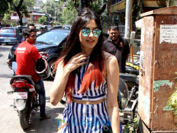 Adah Sharma spotted at Smokehouse Deli